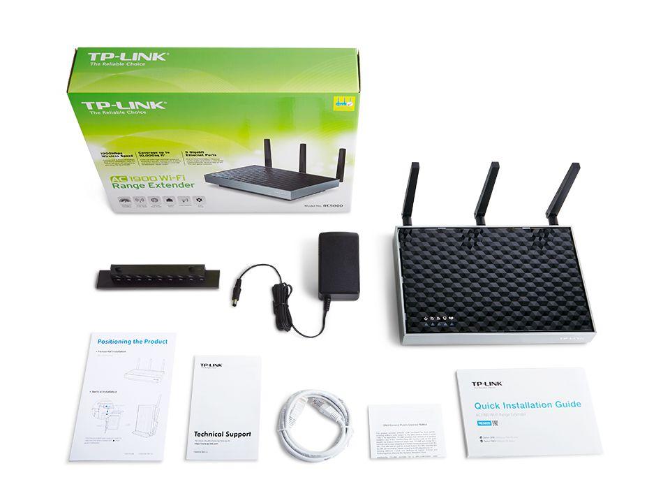 Repetidor Wifi Tp-Link Tl-Re580d Ac1900