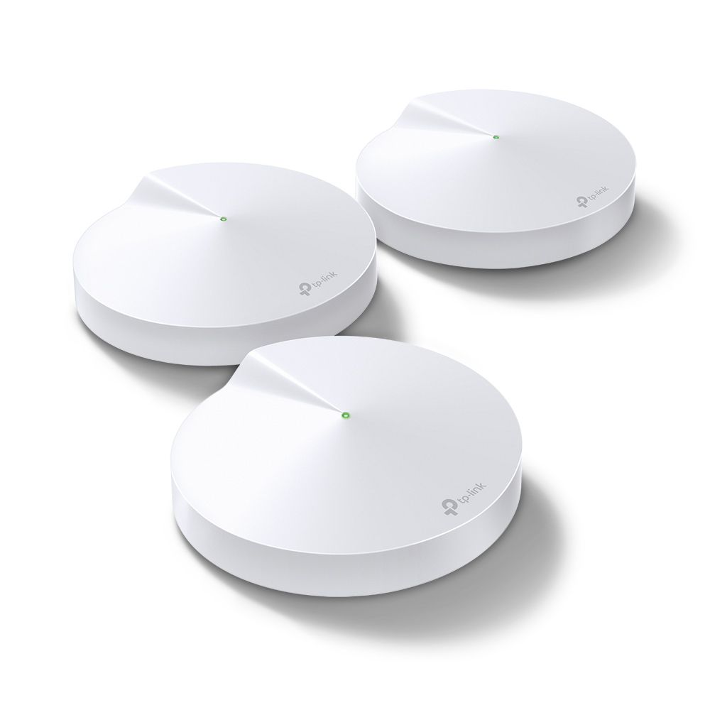 Roteador Tp Link Deco P7 (3-pack) Whole-Home Mesh Wi-fi Ac1300+av600