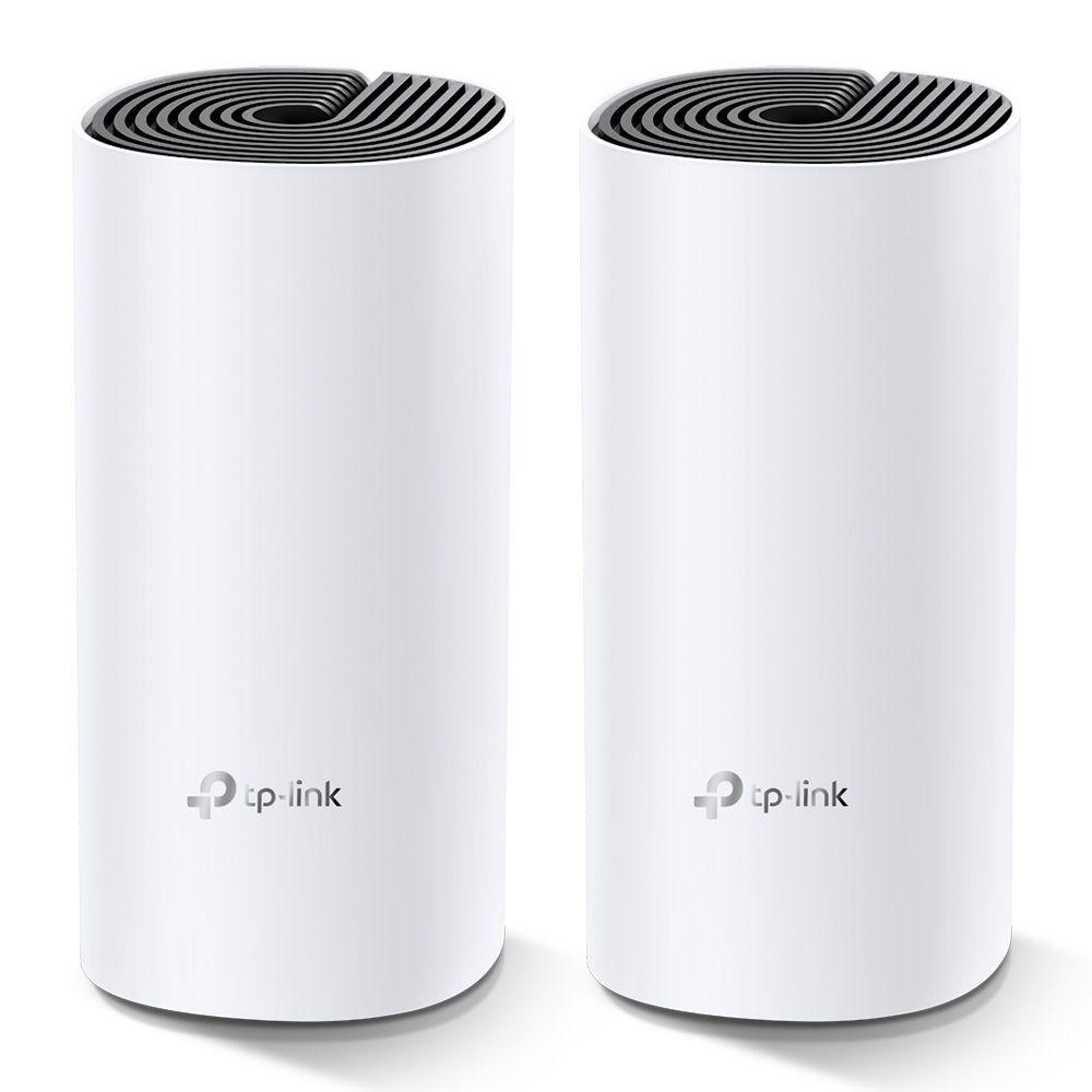 NAO LIBERAR PACOTE COM    2  Roteador Wireless Tp-Link AC1200 Mesh Wi-Fi System Conexões únicas para até 100 Dispositivos Deco M4