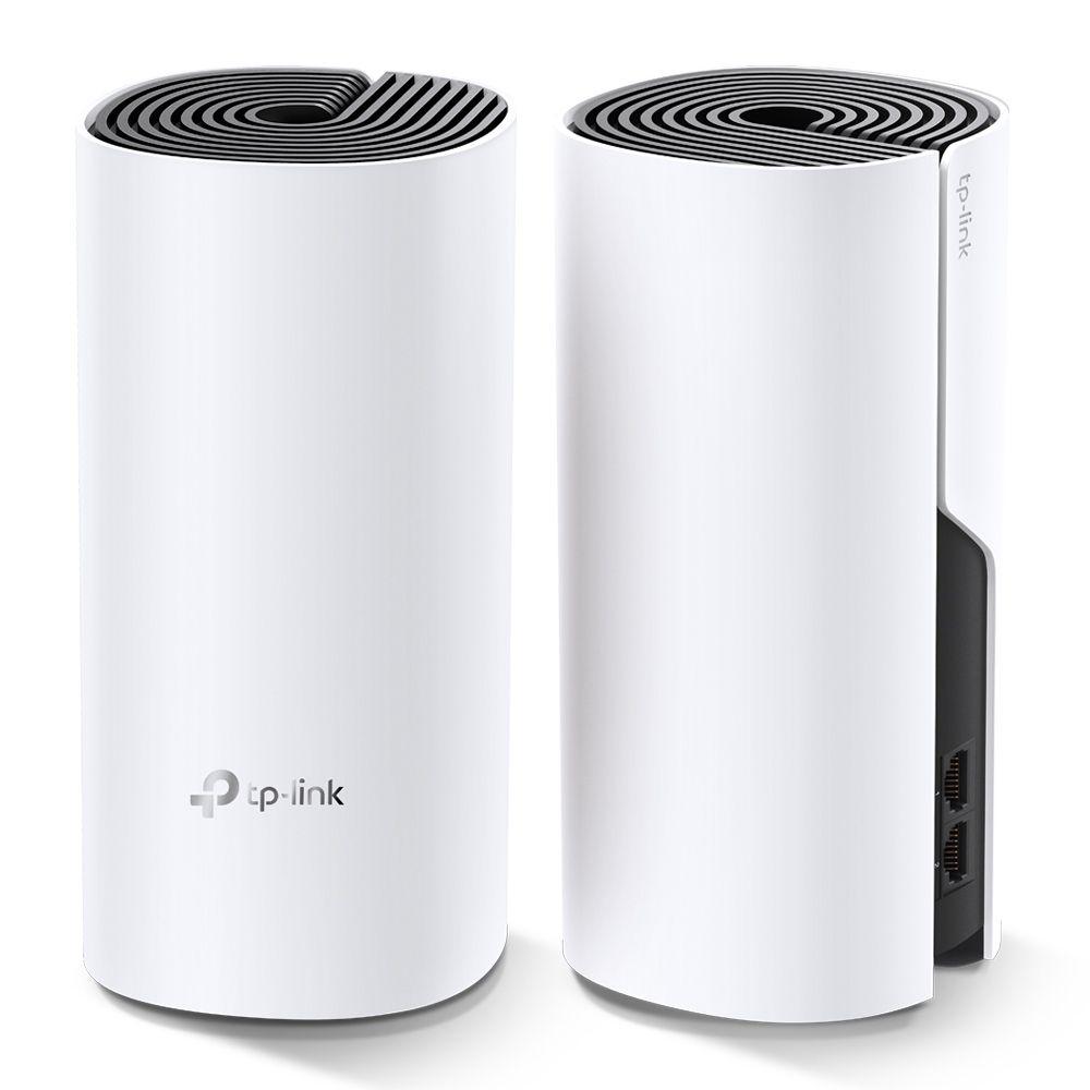 Roteador Wireless Tp-Link AC1200 Mesh Wi-Fi System Conexões únicas para até 100 Dispositivos Deco M4