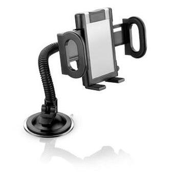 Suporte Celular GPS Tablet Automotivo Multilaser com Trava Segurança Ventosa Universal AC168