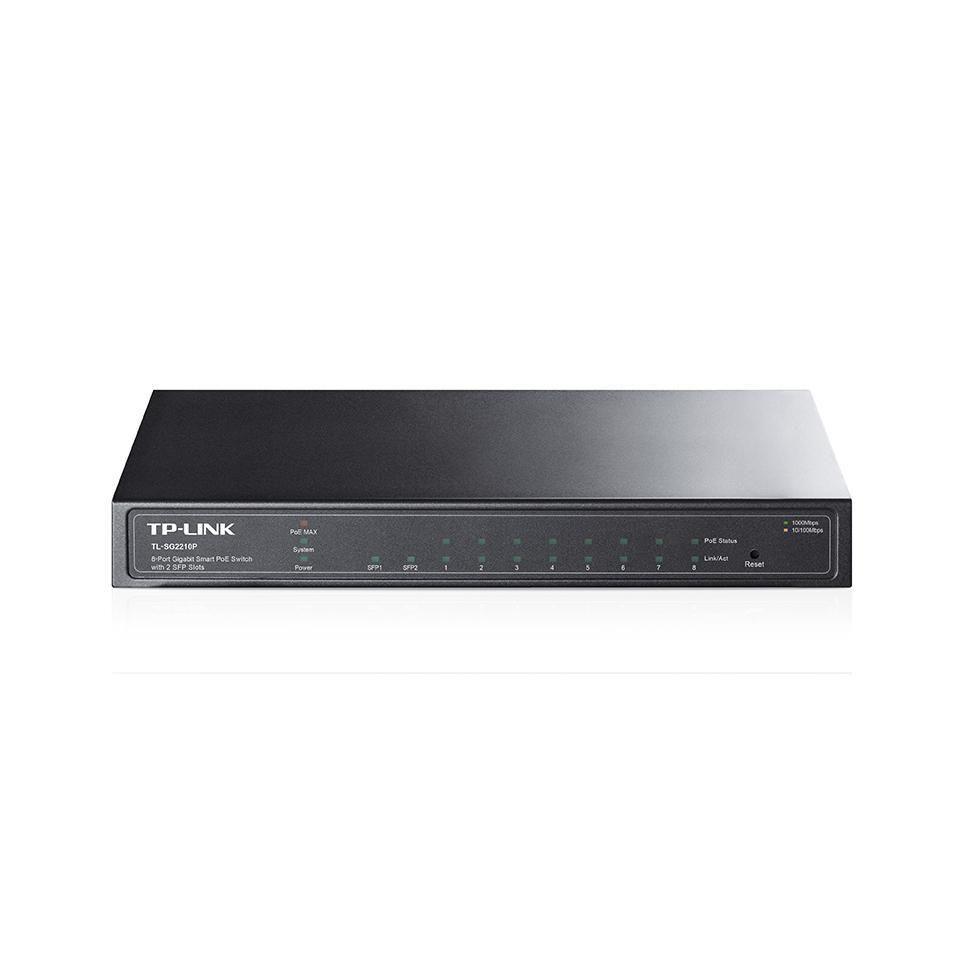 Switch 08 Portas 10/100Mbps + 2 Gigabit TL-SL2210 - TP-Link