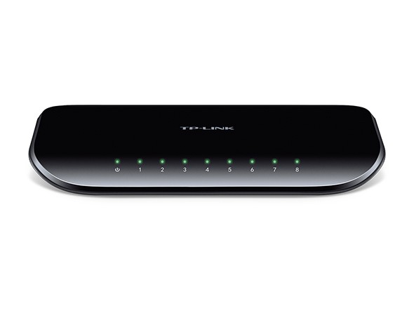 Switch 8 Portas TP-Link 10/100/1000 Gigabit TL-SG1008D