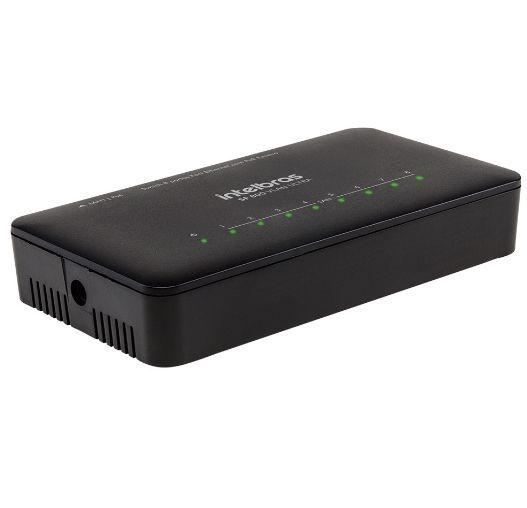 Switch Intelbras Sf800vlan 8 Portas Fast Ethernet C/Vlan Fixa