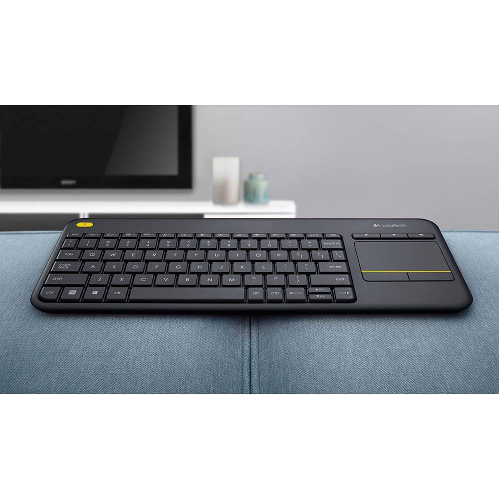 Teclado Wireless Logitech Touch Keyboard K400 Plus