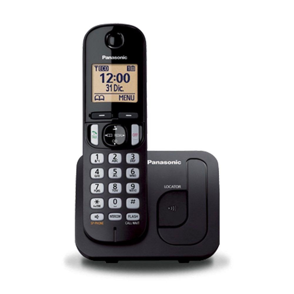 Telefone Sem Fio Secretária Eletrônica Dect 6.0 Panasonic KX-TGC220LBB Preto