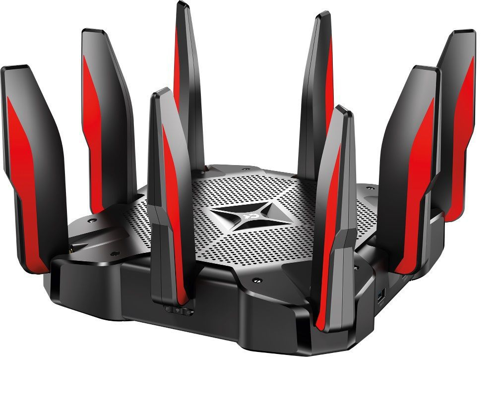 Roteador Tp-link Archer C5400x Gaming Roteador Ac5400 Tri-band Giga