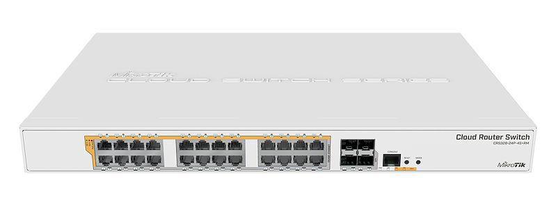 Mikrotik Smart Switch CRS328-24p-4S+RM L5