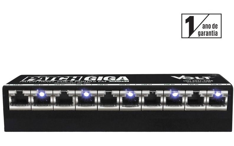 Volt Patch Panel Giga 5p 48v  Tek Distribuidor