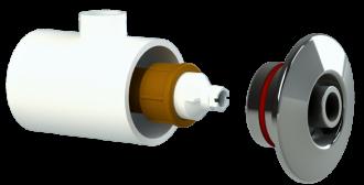 Dispositivo de Hidromassagem Inox - Alvenaria - Tholz