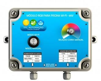Módulo Iluminação de Piscina RGB c/ Wi-fi - 81W