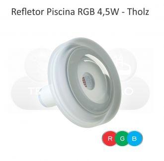 REFLETOR LED RGB - CABO 10M - 4,5W