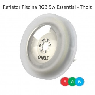 REFLETOR LED RGB ESSENTIAL - CABO 2M - 9W