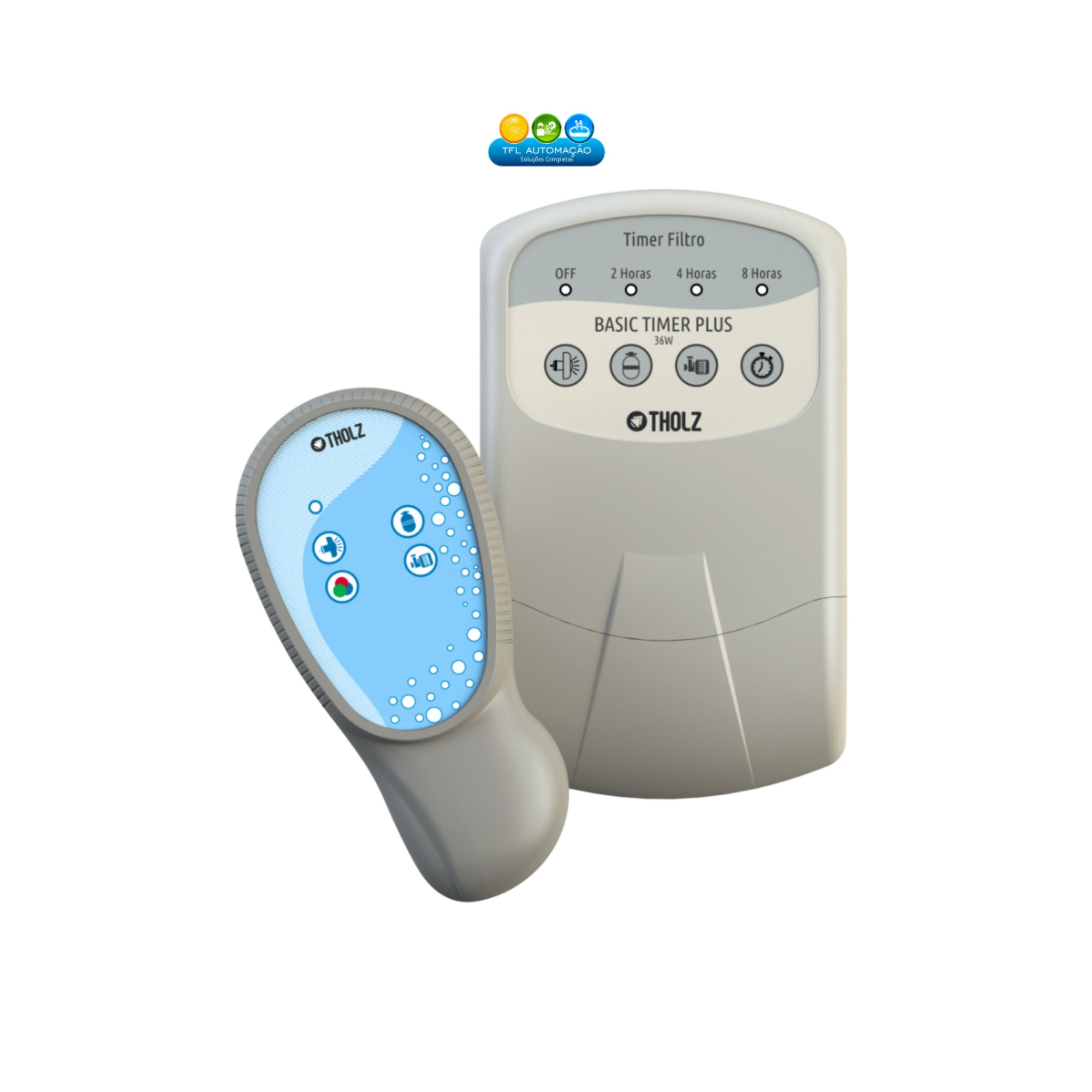 Basic Timer Plus 36w c/ Timer p/ Filtro - 90~240vca - Tholz