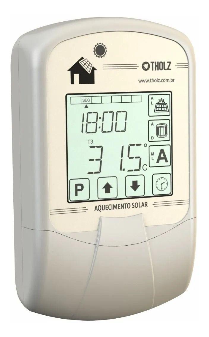 Controlador Aquec Solar - Mtz1260n - 90~240vca - Tholz