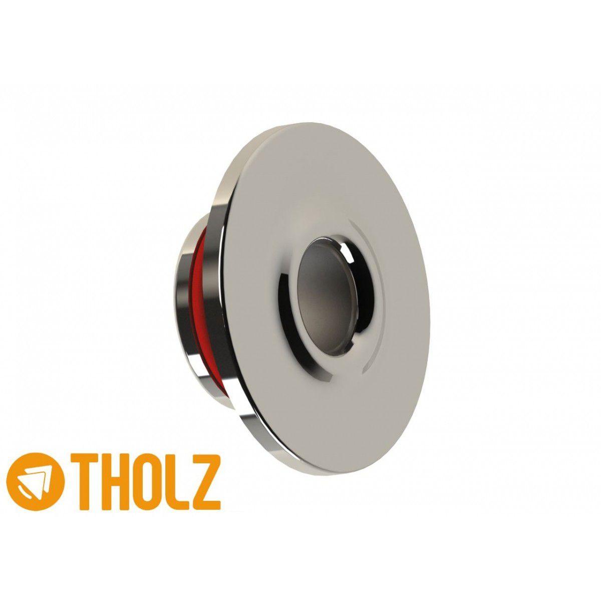 Dispositivo de Retorno Redondo Inox - Alvenaria - Tholz