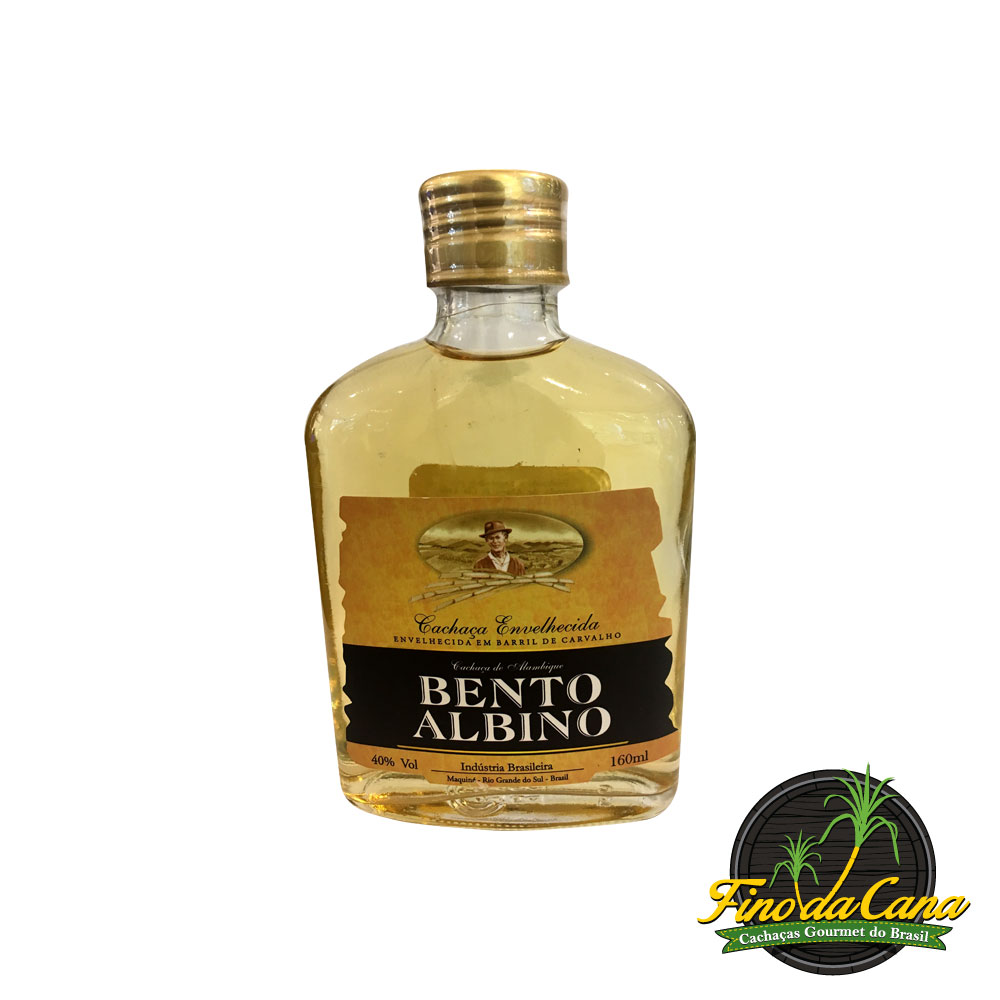 Bento Albino Ouro Bolso 160 ml