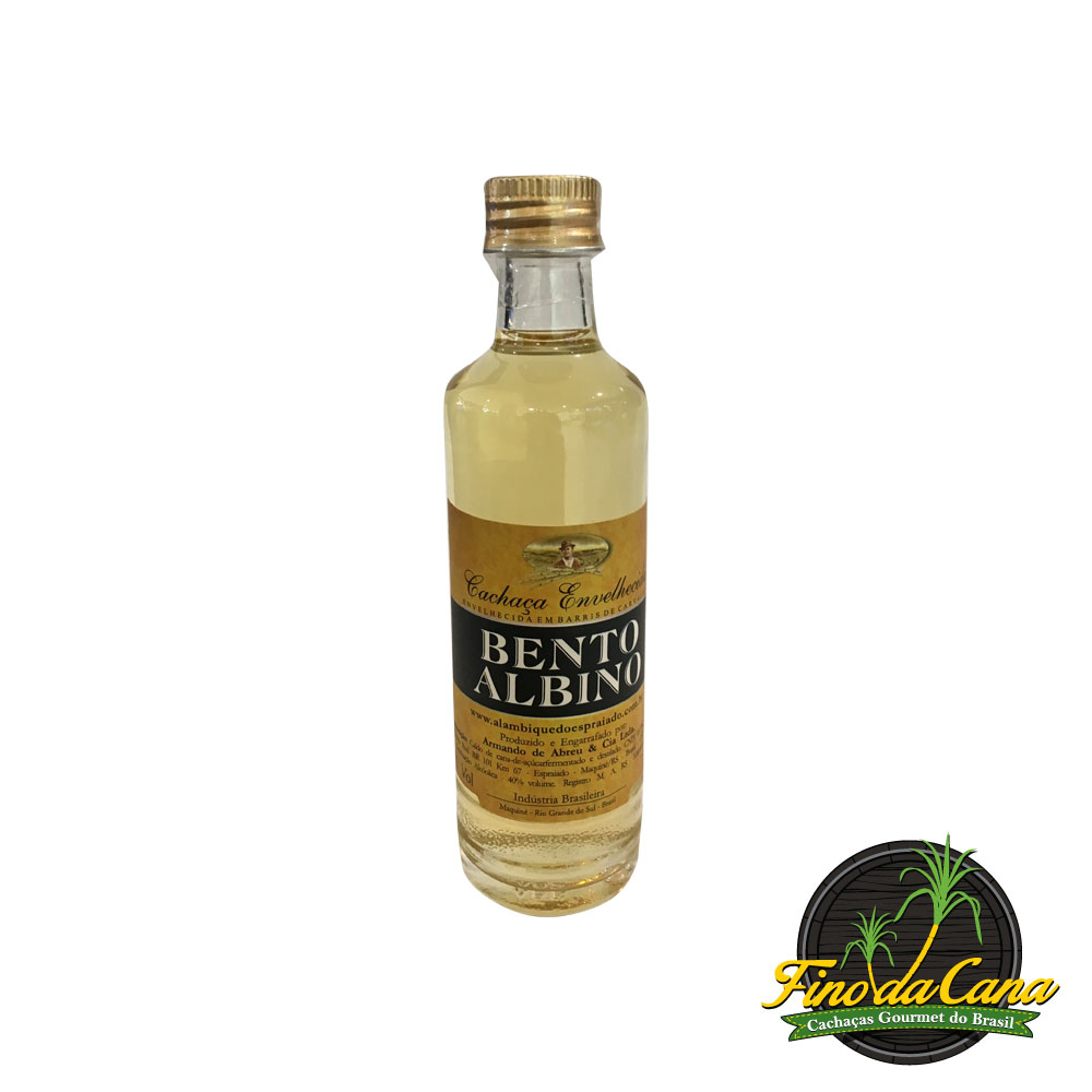 Bento Albino Ouro Miniatura 50 ml