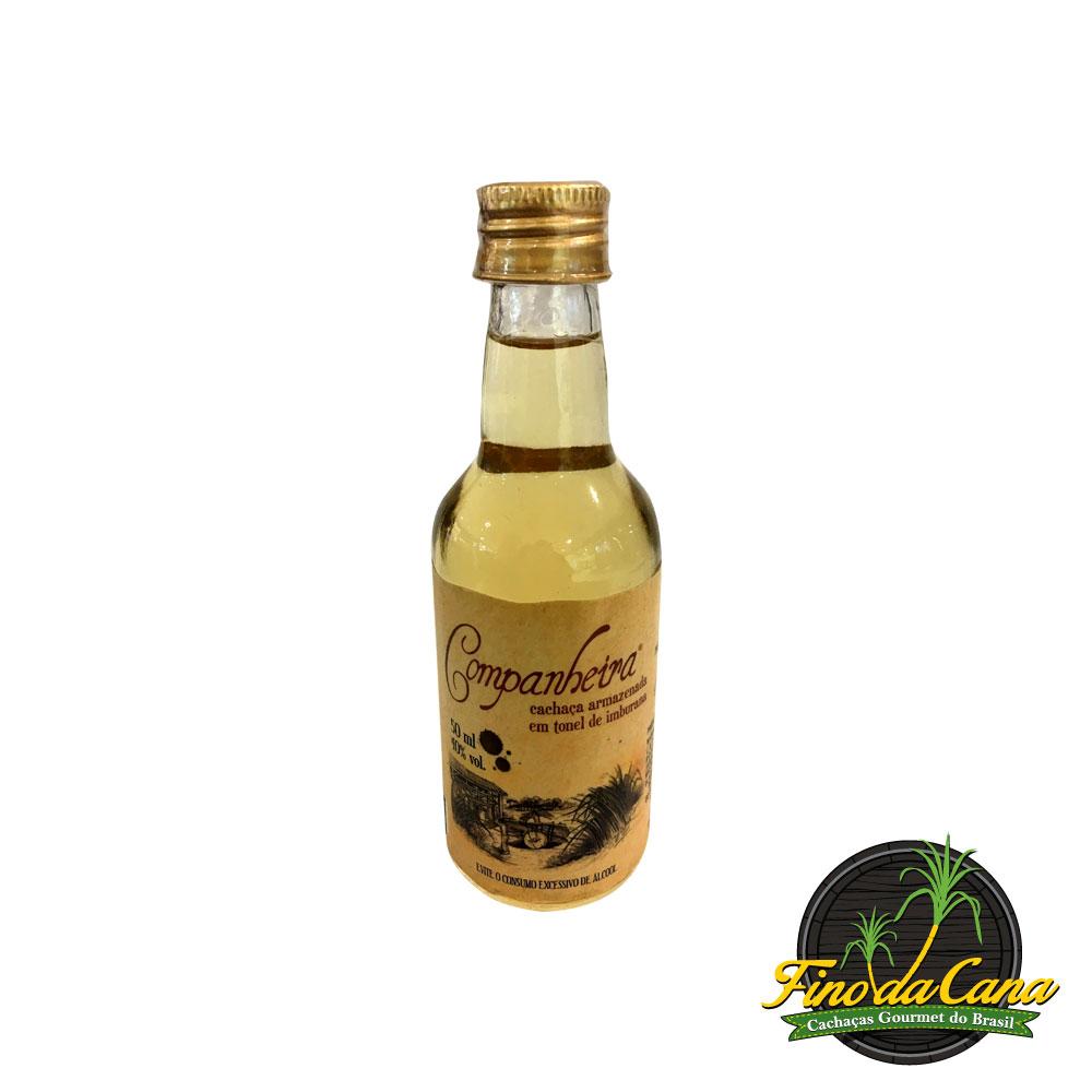 Cachaça Miniatura Companheira Imburana 50 ml