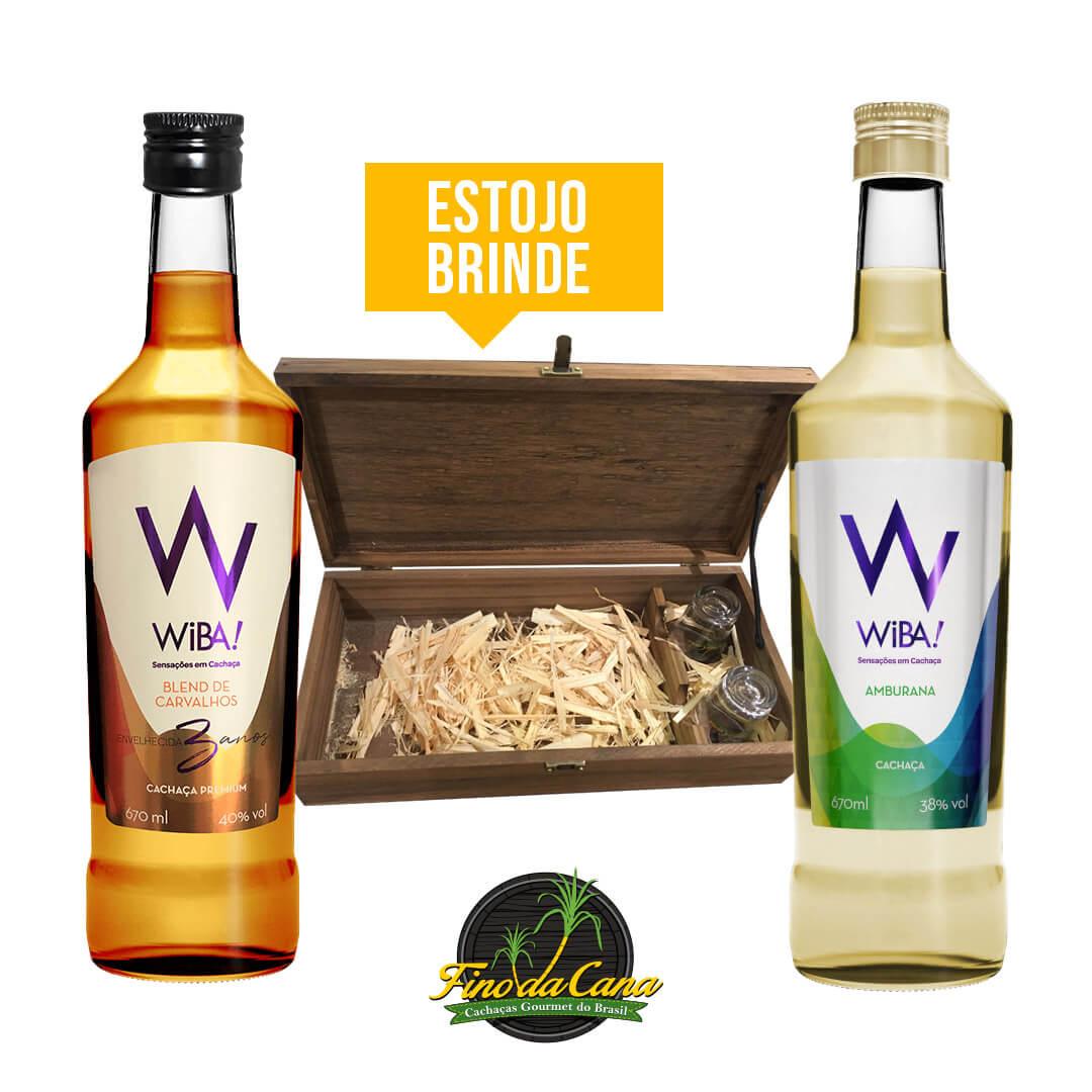 Kit Cachaça Wiba! + Estojo
