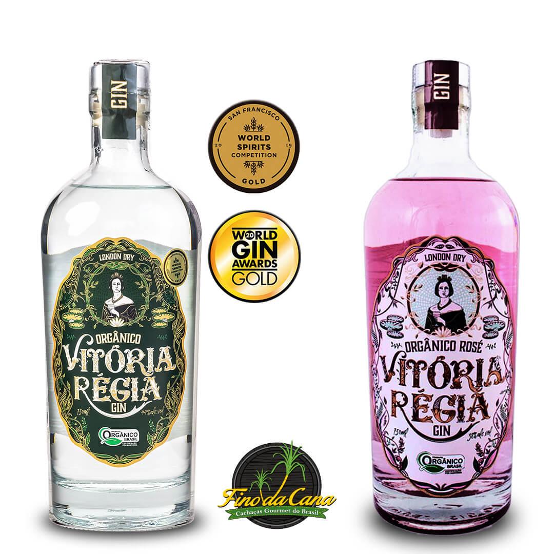 Kit Gin Vitória Régia