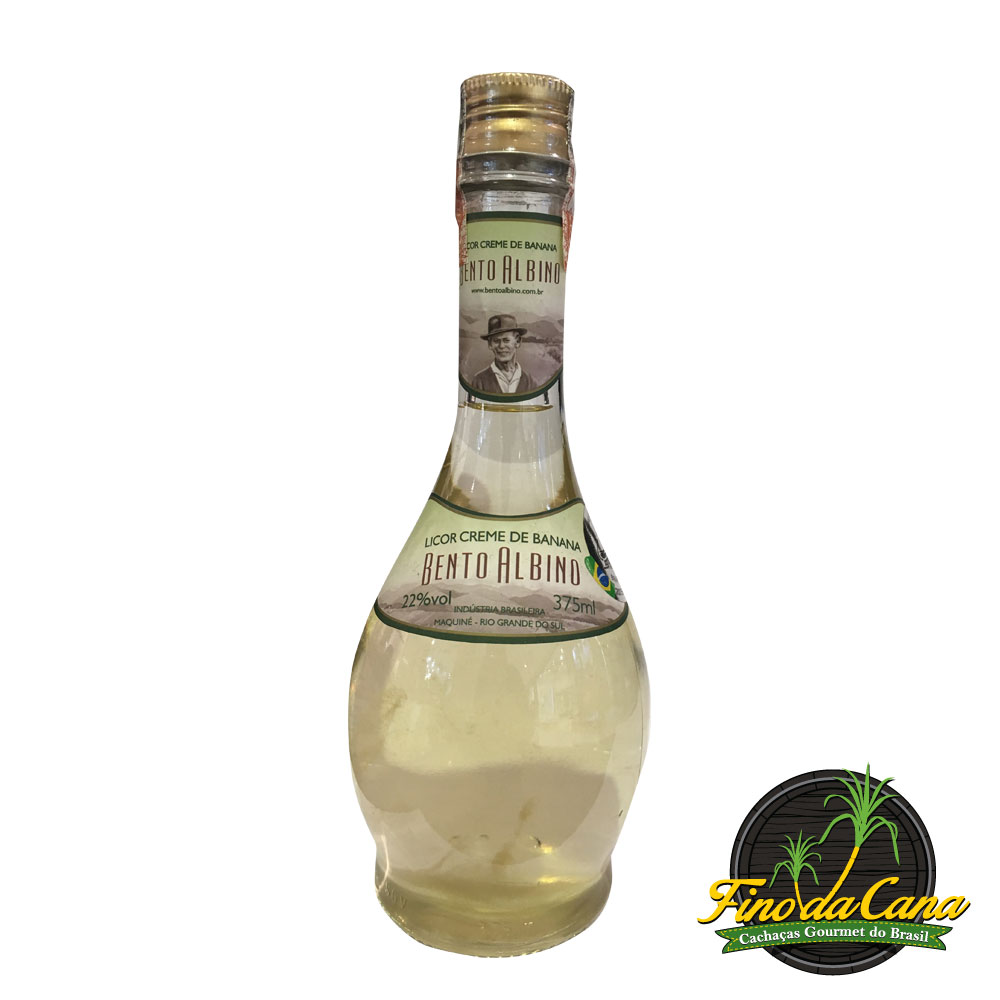 Licor de Banana Bento Albino 375 ml