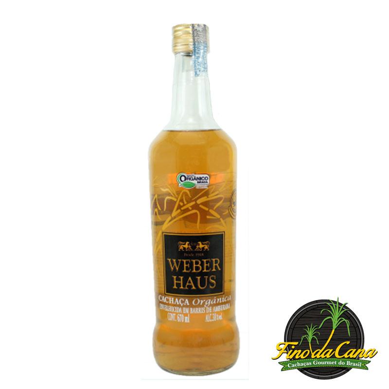 Cachaça Weber Haus Amburana 670 ml
