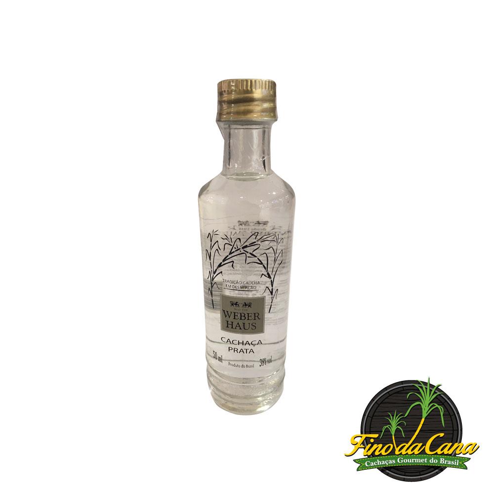Cachaça Weber Haus Prata 50 ml