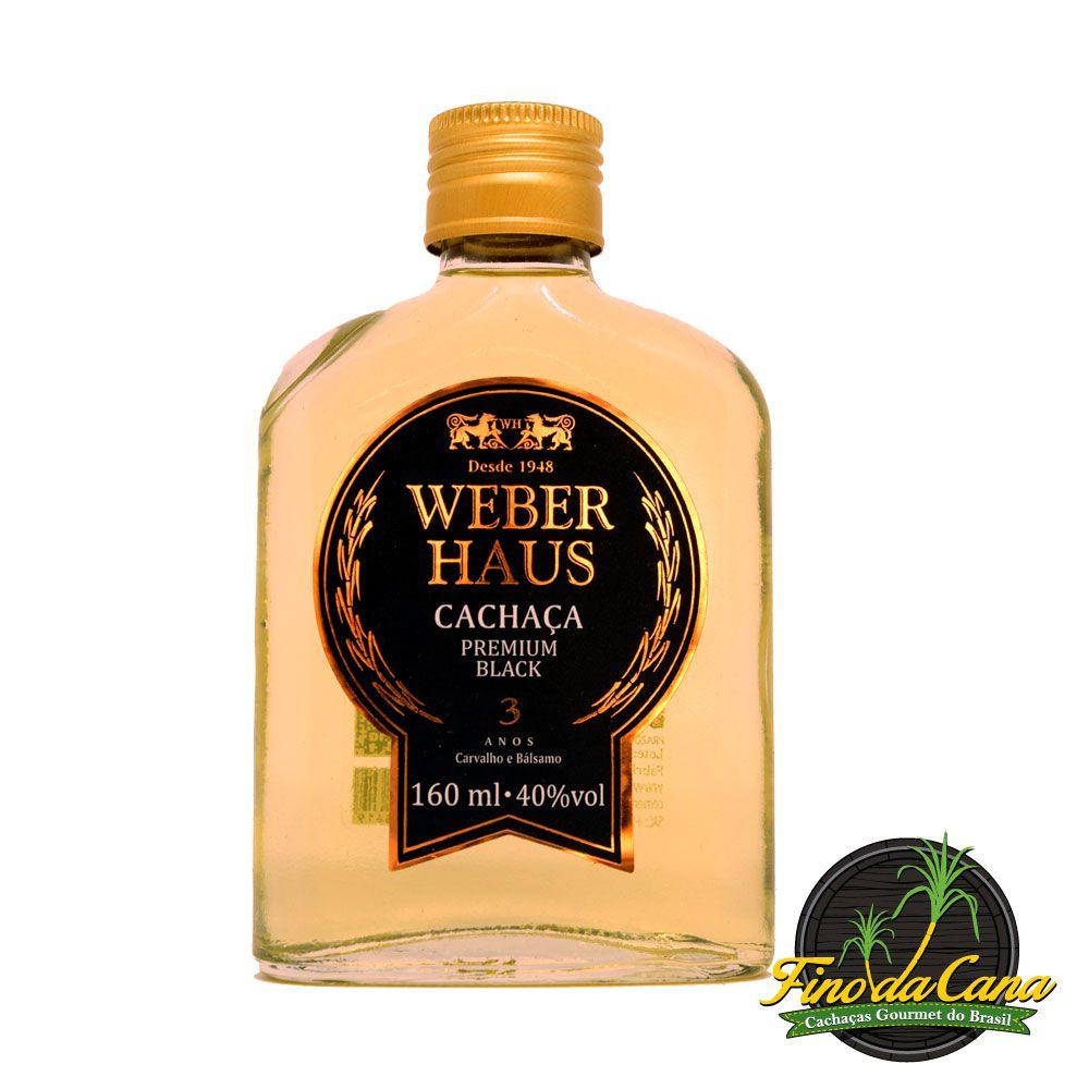 Cachaça Weber Haus Premium Black Bolso