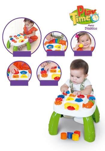 Mesa Didática C/ Atividades Para Bebes Play Time Cotiplás Ref. 1996
