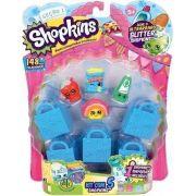 Miniaturas Colecionáveis Shopkins Kit Com 5 Unidades Blister DTC Ref. 3581