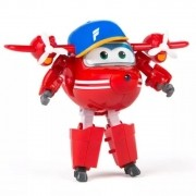 Avião Super Wings Flip Change em Up 80064 Intek