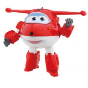 Avião Super Wings Jett Change em Up 80064 Intek