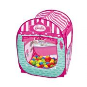 Barbie Barraca Infantil com 50 Bolinhas 77861 Fun Divirta-se