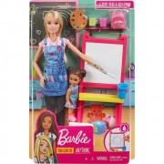 Barbie Conjunto Profissões Professora de Arte DHB63 / GJM29 Mattel