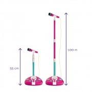 Barbie Microfone Karaokê Fabuloso 80070 Fun Divirta-se