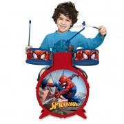 Bateria Acústica Infantil Musical Spider-Man Marvel 30491 Toyng