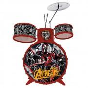 Bateria Acústica Infantil Musical Vingadores 34473 Toyng