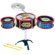 Bateria Infantil Musical Super Wings 8426-5 Fun