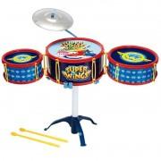 Bateria Infantil Musical Super Wings 8426-5 Fun