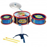 Bateria Infantil Musical Super Wings 86233 Fun