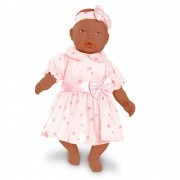 Boneca Bebe - Baby By Roma Jensen 5181 Negra