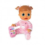 Boneca Bebê Baby Wow Analu Interativa Multikids
