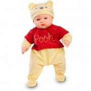Boneca Bebê Fantasias Disney Pooh Roma Jensen