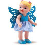Boneca Bebê My Little Collection Fadas Azul 8042 Diver Toys