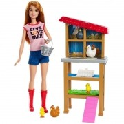 Boneca e Playset Barbie Profissões Barbie Granjeira DHB63 Mattel