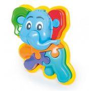 Brinquedo Animal Puzzle 3D Elefante 856 Calesita