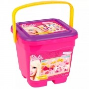 Brinquedo Baldinho Divertido Massinhas Barbie 72948 Fun