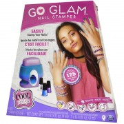 Conjunto para Pintura de Unhas Go Glam Printer Value 2130 Sunny