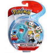 Conjunto Pokemon Wobbuffet, Jangmoo e Rowlet 4844 DTC